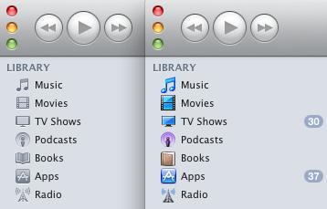 將 iTunes 10 color back 側邊攔變回彩色!