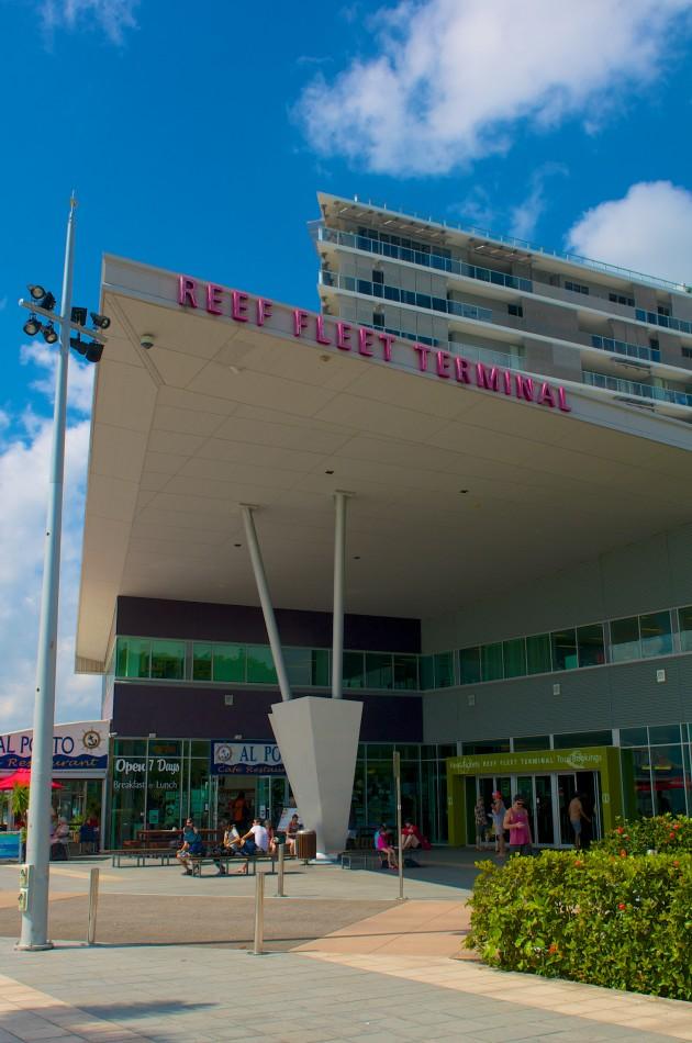 Cairns Reef Fleet Terminal:要到Green Island,必須要到這裡買船票!