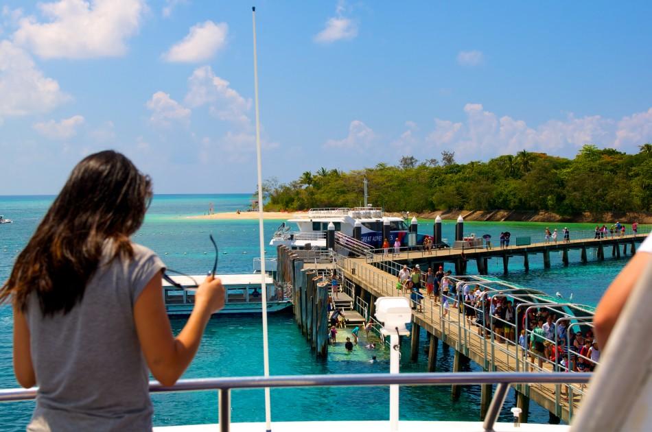 Green Island的碼頭!