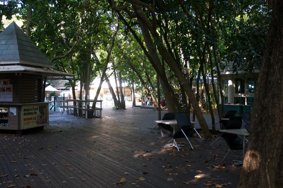 四點半一到,房客以外的遊客都會離開Green Island,一瞬間整個島就變得非常寧靜!