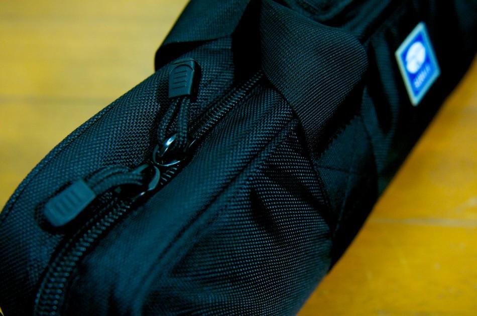 包覆式背帶的拉鍊!