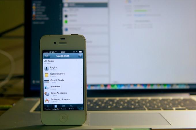 1Password's iPhone App!