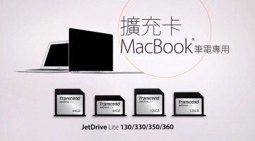 JetDrive Lite 擴充卡