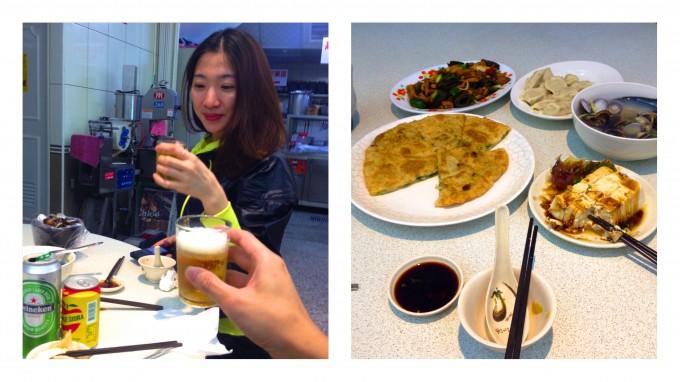 慶功宴 at 斗煥坪水餃館