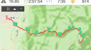 Runkeeper:路線圖是可以手動修改的。