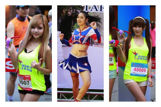 2014太馬會場中的正妹啦啦隊與Show Girls!