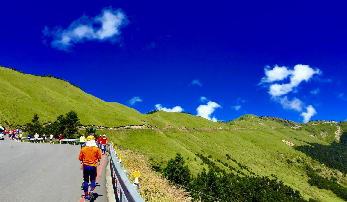 武嶺的高山景觀公路