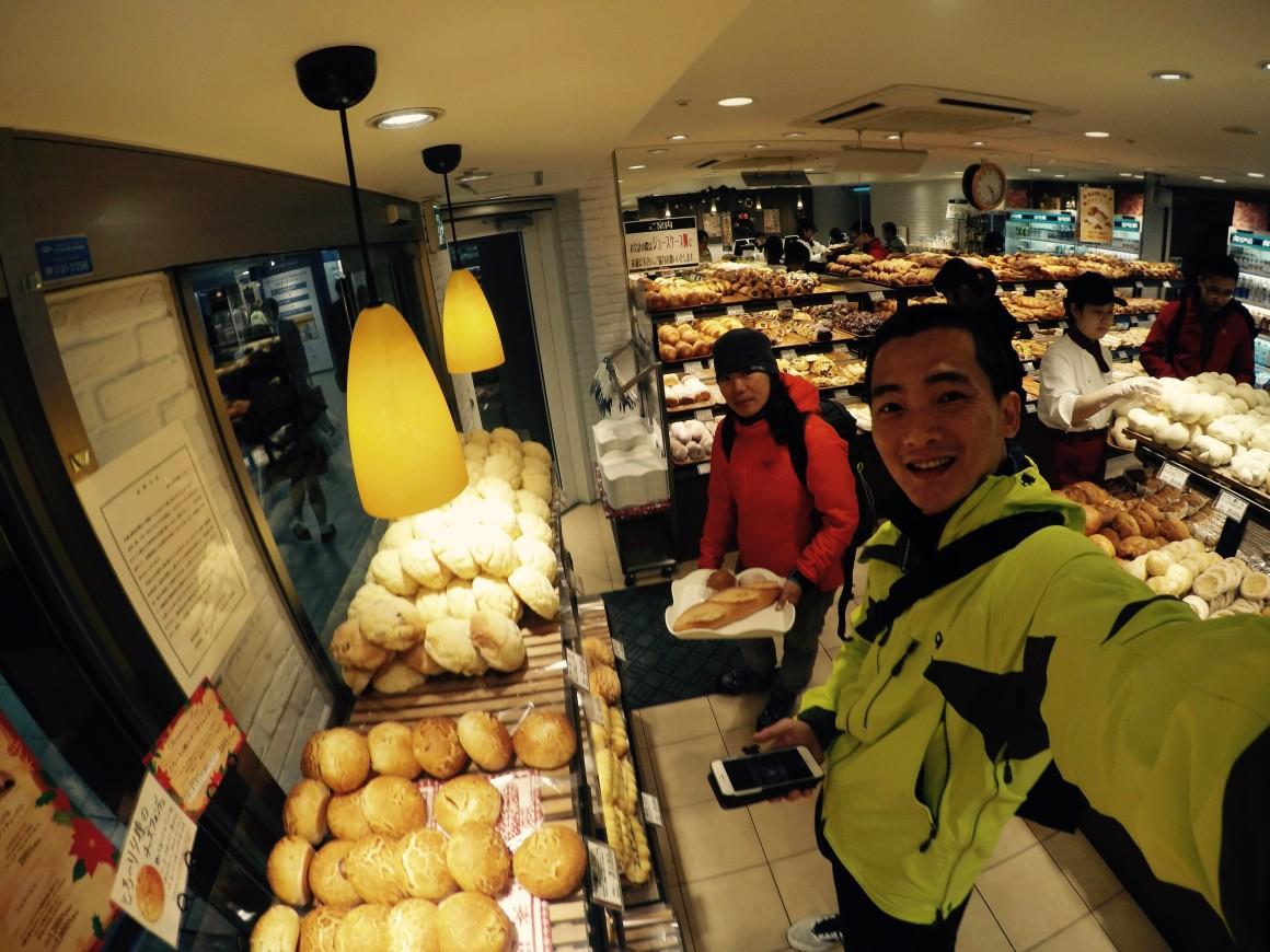 新宿的麵包店~ 買麵包